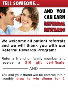 Learn more about our referral rewards program!