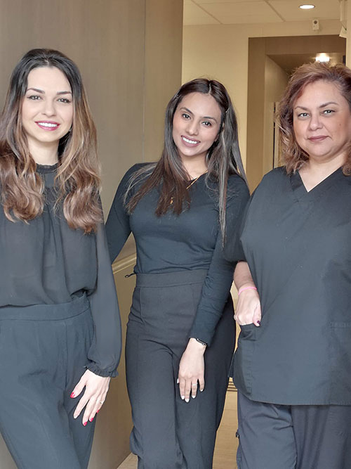 photo of your Burnaby dentist staff at Canadaway Dental Clinic